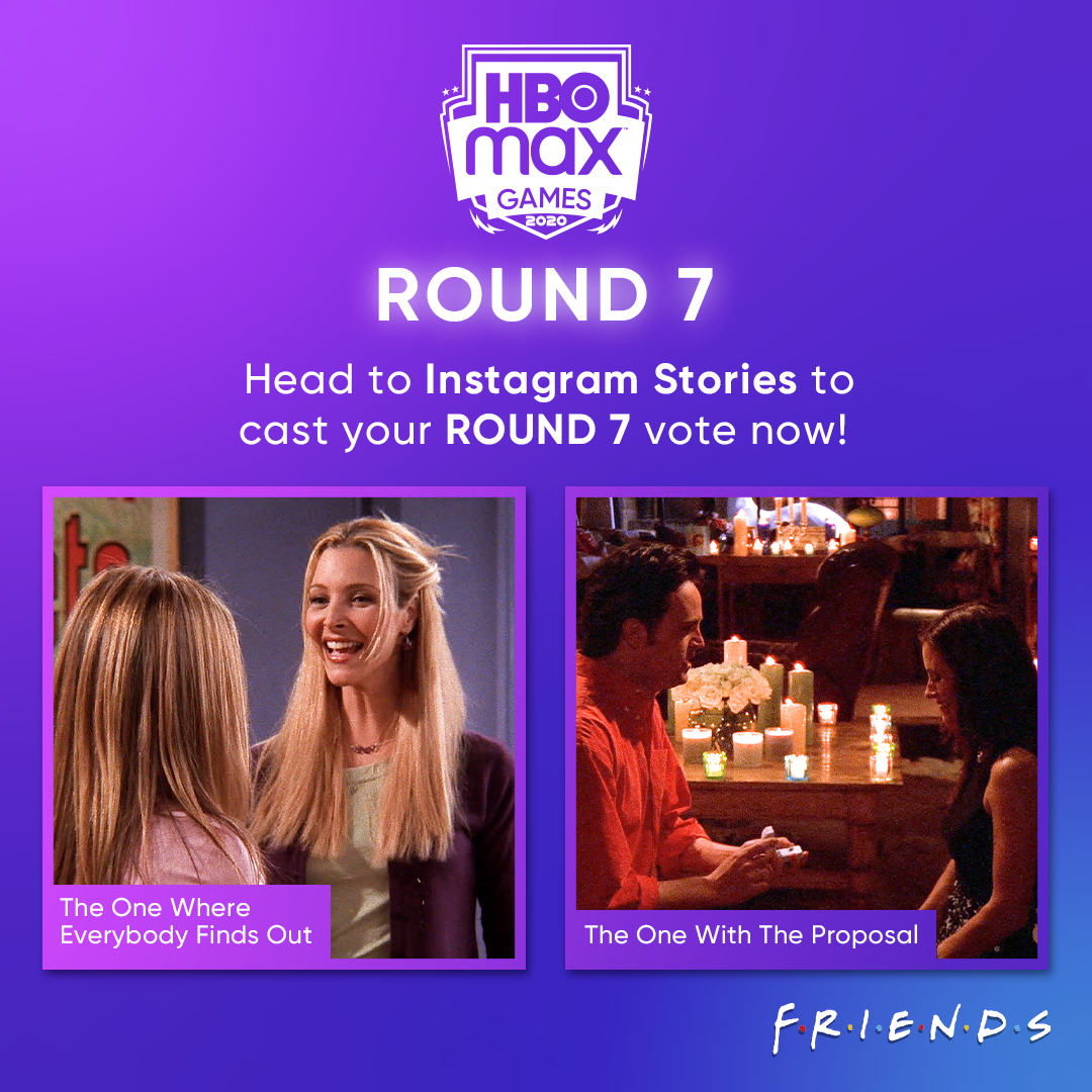 Round 7 of #HBOMaxGames has begun! Head to our Instagram Stories to cast your vote now!