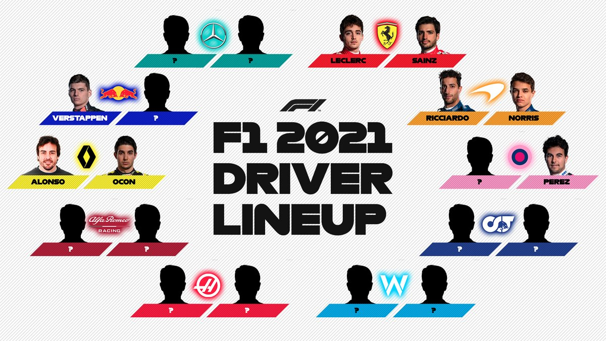 Can you spot the only confirmed world champion on the 2021 grid? 👀  #F1 https://t.co/QZMi5dicGn