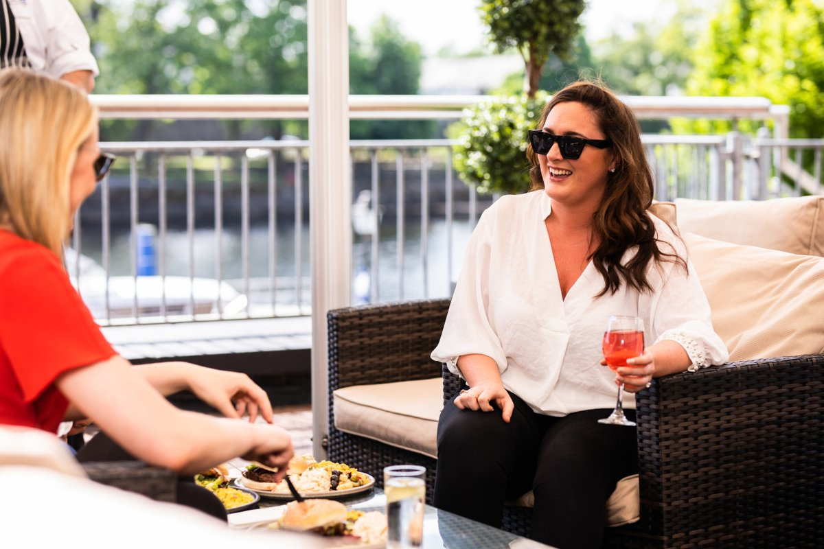 Don't it feel like #Summer? The ultimate catch-up awaits when you call round with the girls! One deliciously, juicey chit chat coming right up, when you book your table here https://t.co/Tdic7Wkc1C #MakeABreakForIt #iNUACollection https://t.co/bDAX3clBDW