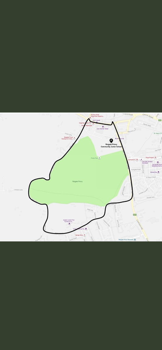 Section 35 dispersal order back in place this weekend in #reigate from 1800hrs tonight until 1800hrs Sunday 12th July #enjoythepark #respecteachother #takeyourubbishhome #ifyouseeusgiveusawave 👋 https://t.co/AhtepH6cG4