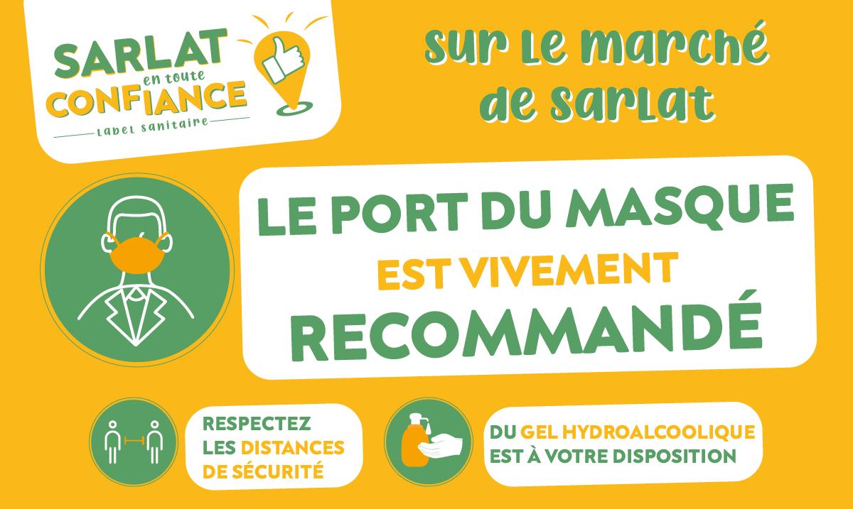 À #Sarlat, sur le marché ou la fête foraine, pensons aux gestes barrières et au port du masque. 😷#sarlatentouteconfiance https://t.co/lafpKxULmh