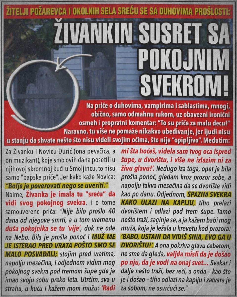 Požarevac: Živankin susret sa pokojnim svekrom