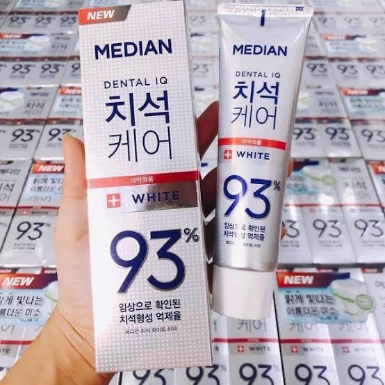 #ยาสีฟันเกาหลี พร้อมส่งจำนวนจำกัด 🔥 👄 ยาสีฟัน Median 120g. สูตรฟันขาว มีเม็ดบีทช่วยขัดฟัน ลดคราบหินปูน 💸 หลอดละ 79฿ เท่านั้น‼️ 🚚 ส่งของทุกวัน ของแท้ 💯 จากเกาหลี  #รีวิวเกาหลี #คสอเกาหลี #HowtoPerfect #พรีออเดอร์เกาหลี    #ตลาดนัดบังทัน #ตลาดนัดnct #ตลาดนัดอากาเซ #ตลาดนัดEXO https://t.co/yeDVhvJry0
