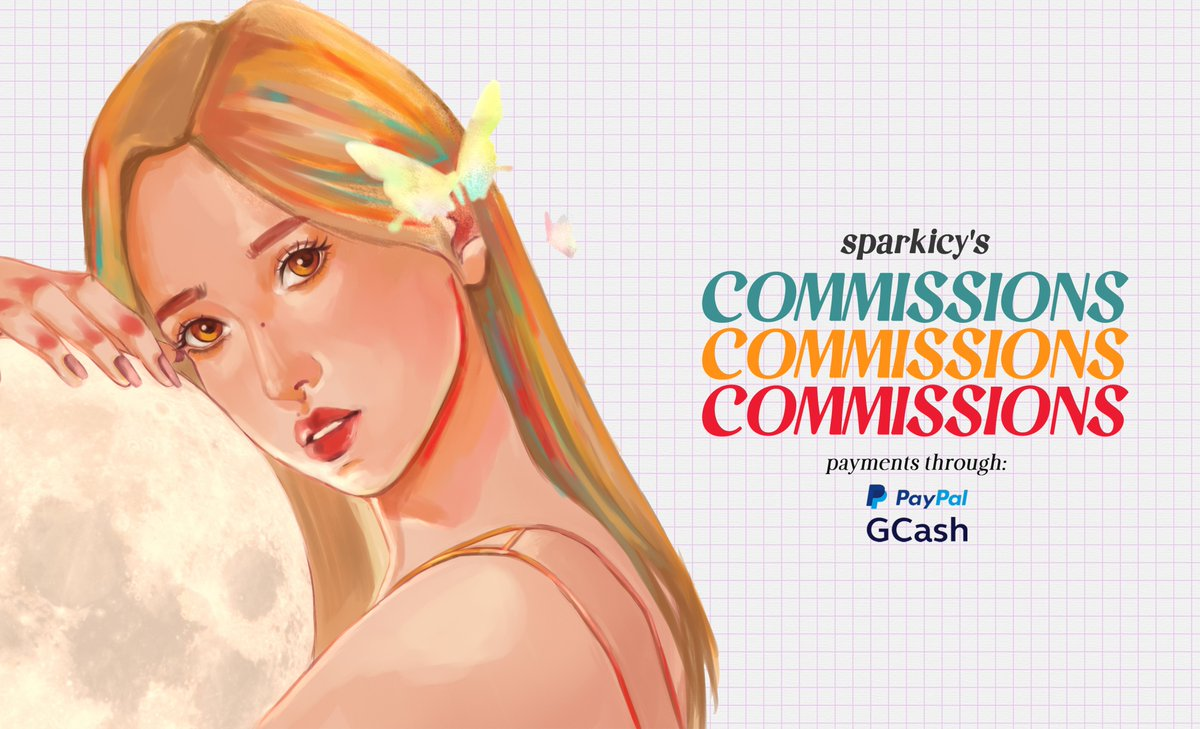 ✨sparkicys commissions are open! ✨ hello, id love to draw you! send me a dm if youre interested! retweets are appreciated. 💖 #artph #commissionsopen