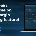 Image for the Tweet beginning: Dash now available for Margin