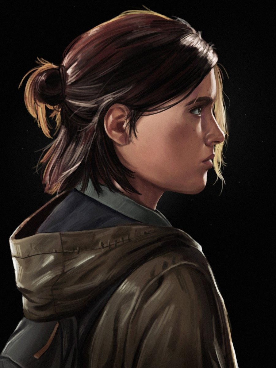 #FanArtFriday: Ellie from #TheLastofUsPartII. Thanks for sharing it with us, Robbie!  Share your own fan art, cosplay, photo mode shots, and more here: https://t.co/rkNPoi2lDv https://t.co/3RuPoRmHnb