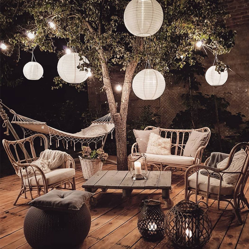 Anyone else looking forward to those warm summer evenings in the garden? 🌳🌙We love this cosy night time chill-out space! 😍How have you been preparing your garden for summer time? Comment down below your own #GardenInspo ideas! 🌻📸: @pinterest https://t.co/gOSgDsydCZ