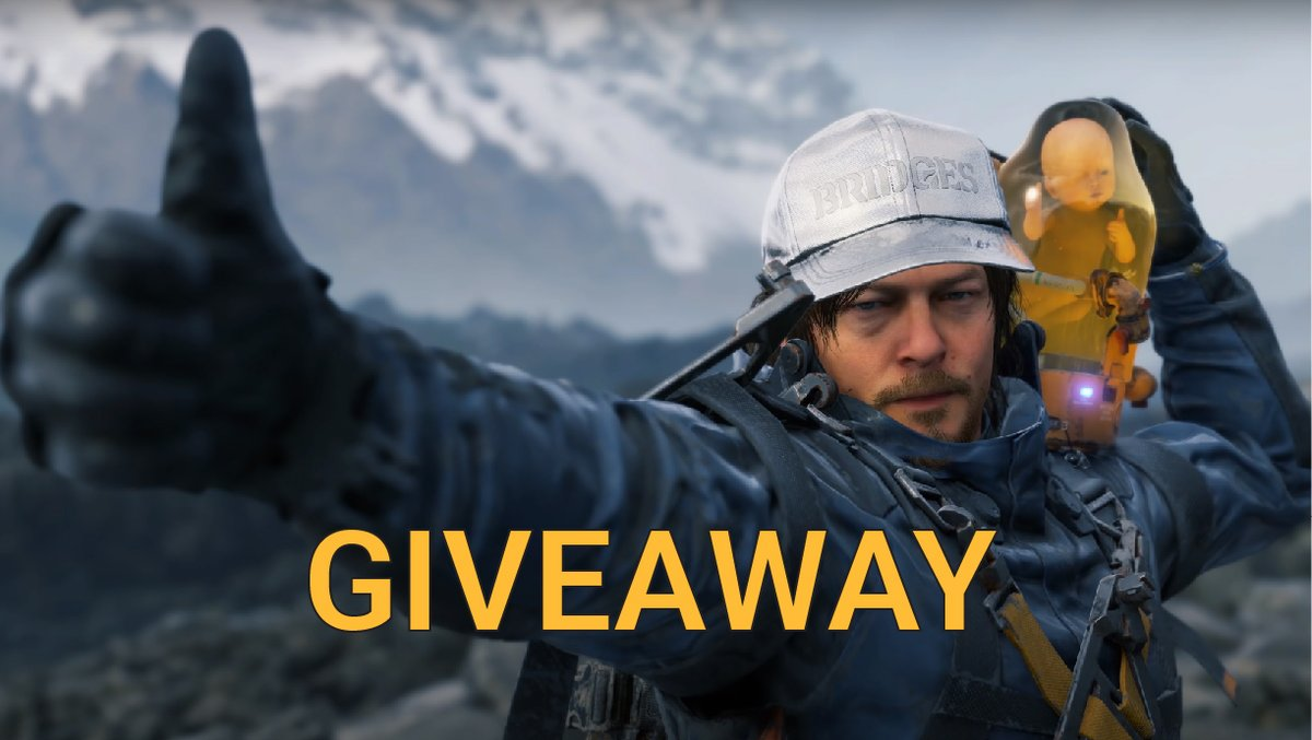 Death Stranding launches on PC on the 14th of July and it comes with @NVIDIAGeForce DLSS 2.0: https://t.co/bBePAuBqvE  Want to play it on launch day? We're giving 3 keys away to 3 lucky winners!  To enter, simply RT, Follow and Tag the biggest Kojima fan in your friend's list. https://t.co/S7lbRb3Ec1
