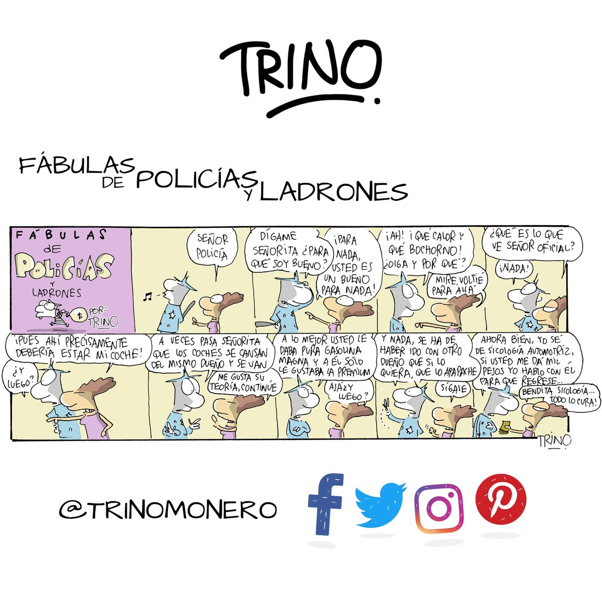 Cuando los coches se van... Don @trinomonero https://t.co/B5sf80BnJH