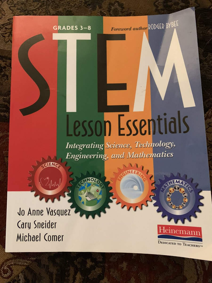 Such a great book to read. Learned a lot from it! #STEM #STEMeducation pic.twitter.com/cXI0pp3378