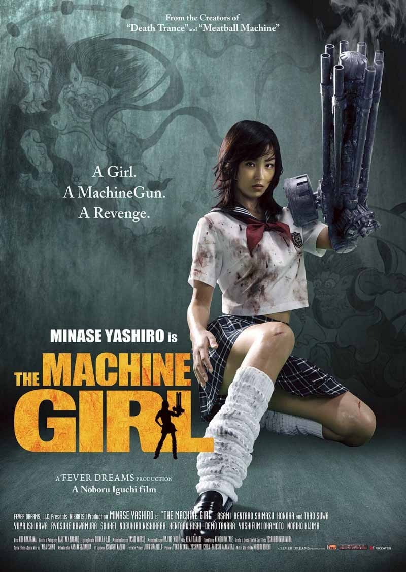 Today's Throwback: The Machine Girl (2008) Movie #movie #throwback #horror: Synopsis: Maimed while seeking revenge, a girl becomes stronger than ever. Tagline: The Machine Girl - One Armed Ballistic Assault Heroine The post Today's Throwback: The… https://t.co/sJ9BvXvnri #horror https://t.co/kASSXl16EP