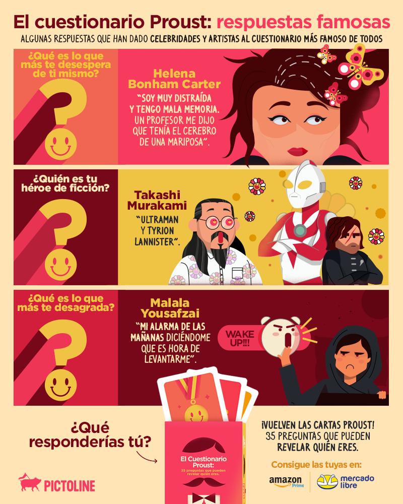 Hoy es el aniversario del cumpleaños deMarcel Proust✍️📚  Por eso, ¡vuelve el Cuestionario Proust!🔥 Un juego de 35 preguntas que pueden revelar quién eres🔍👀  Puedes conseguir las tuyas en: https://t.co/0yiHyRHI1W https://t.co/xF11L0VtPI https://t.co/vvMsDLEVm8