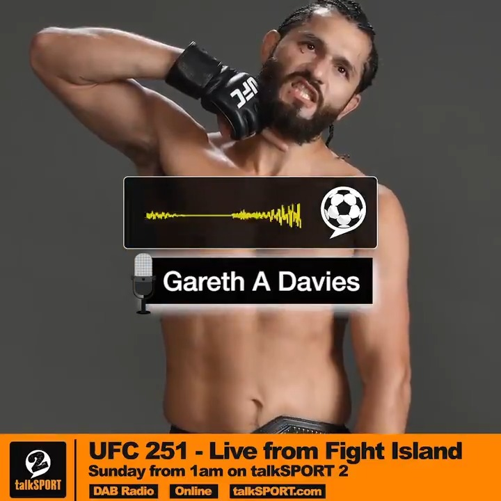Jorge Masvidal, the Cuban from Miami, taking the headline fight on 6 days notice. 👏 Hes got to cut weight, go to a different continent... 😲 @GarethADaviesDT salutes @GamebredFighter ahead of #UFC251 . Dont miss #UFC251 from 1am, this Sunday on @talkSPORT2 🙌