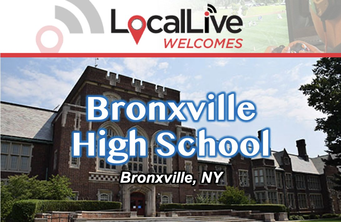 Welcome aboard, Bronxville High School! We are so happy to be working with you. @sports_broncos @BronxvilleUFSD #Bronxville #bronxvillehighschool #NewYork #highschoolsports #highschool #athletics #performingarts https://t.co/fGHA2ivf4n