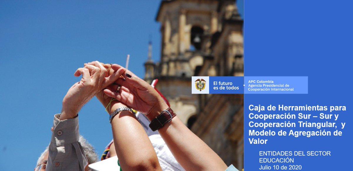 #AEstaHora apoyamos el proceso formativo en Cooperación Sur Sur  con entidades del Sector Educación, en el marco de la ENCI 2019-2022 @Mineducacion, @INCI_colombia,  @ICETEX, @insor_colombia, @ICFEScol #ENCI 2019-2022 https://t.co/GpTiGqo1hS