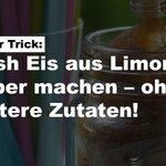 Image for the Tweet beginning: Cooler #Trick: #Slush #Eis aus