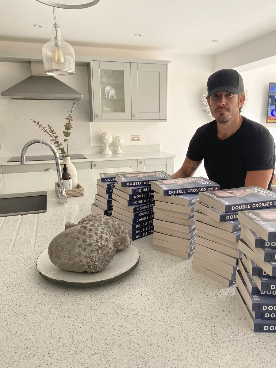 Getting a few books signed and sent. Give it a read before you watch it on TV. ✍🏻📖 KA