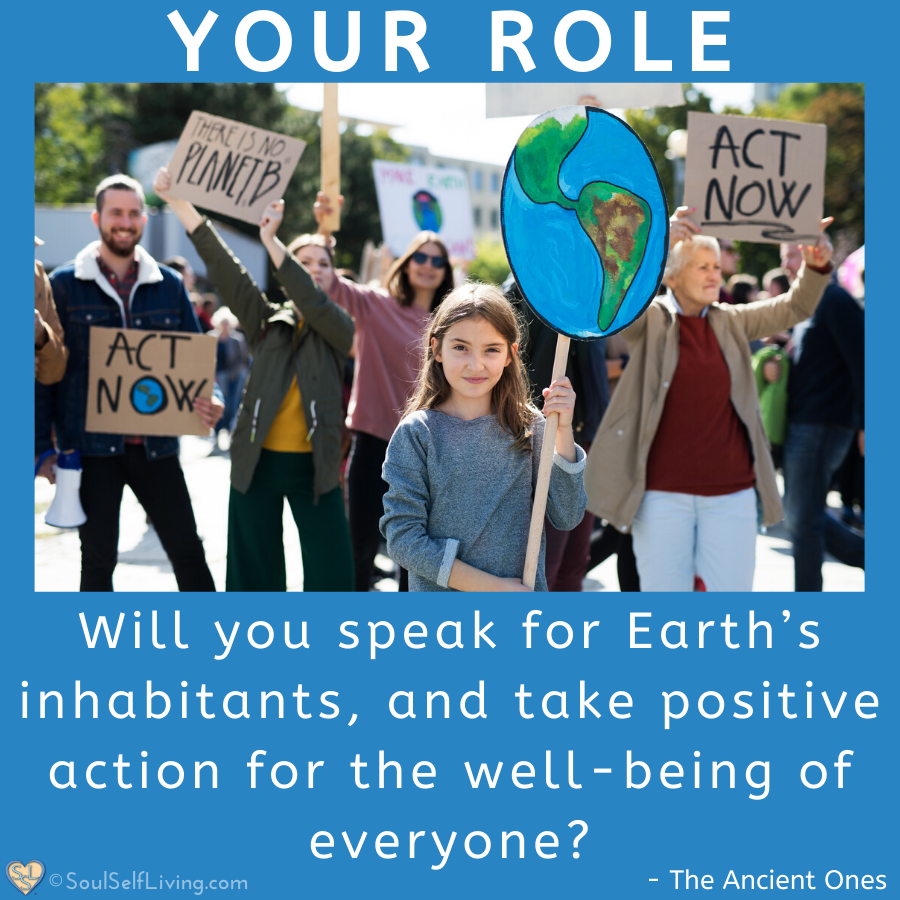 Will you speak for Earth's inhabitants, and take positive action for the well-being of everyone? https://t.co/Z8DTDHYfsB  #bethechange #bethelight #sustainability #climatestrike #spirituality #permaculture#regenerativefarming #gaia#godinnature https://t.co/3JZxZozTWL