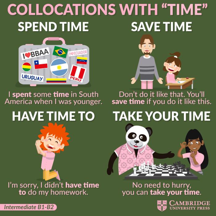 ¿Por qué es muy importante aprender #collocations? Porque te ayudarán a hablar y escribir inglés de una manera natural y precisa, ampliarán la variedad de tu vocabulario y porque son una parte muy importante de los exámenes de Cambridge.