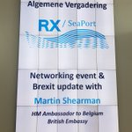 Image for the Tweet beginning: Annual shareholdersmeeting RX/SeaPort #Brexitproofport @SeaportRx #YourBrexitGateway