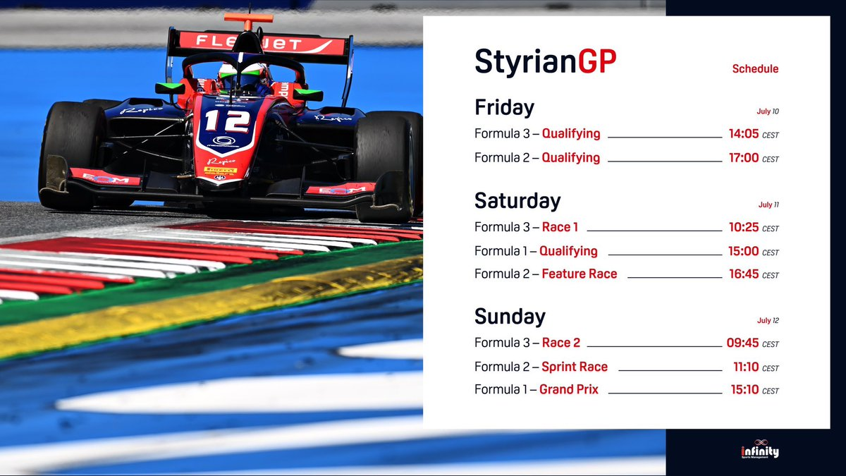 We're back for round 2️⃣ of the @FIAFormula3 championship  Qualifying coming up in just 5 minutes time, follow live at: https://t.co/GFTwFSCUEw or watch live on Sky Sports f1  #trident #fiaf3 #OC  (All times shown are CET) https://t.co/ogHZqeP3Hg
