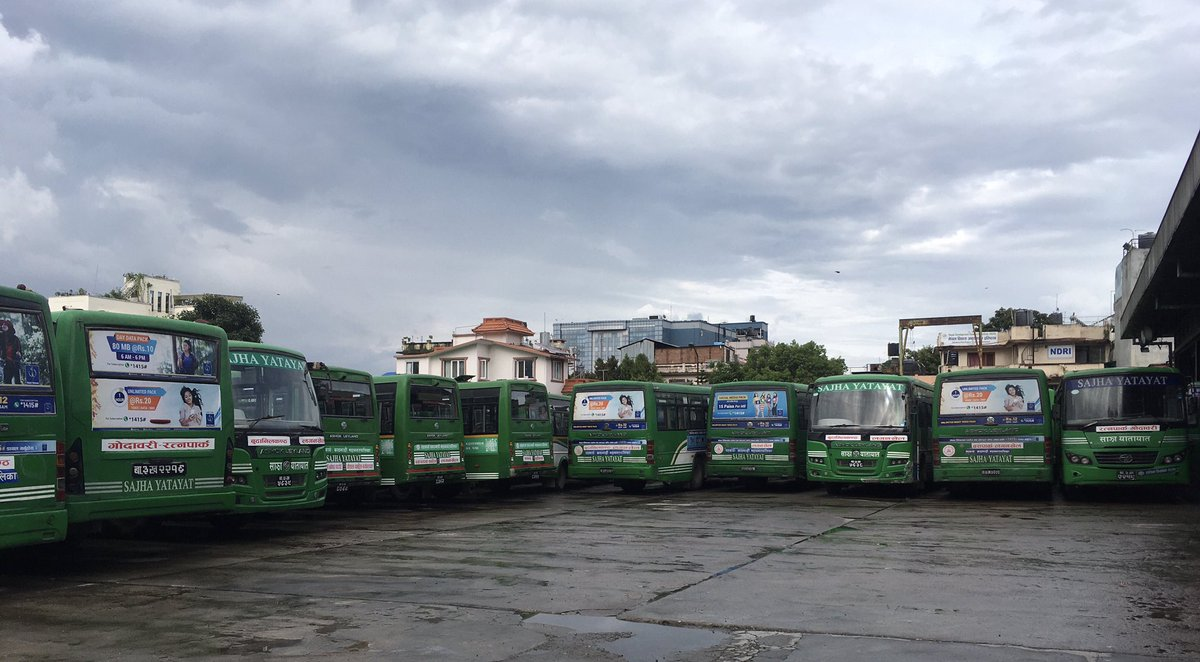 @SajhaYatayat is readying its buses for limited resumption of services in the next few days. We have missed our valued passengers! https://t.co/QmXW44CzQe