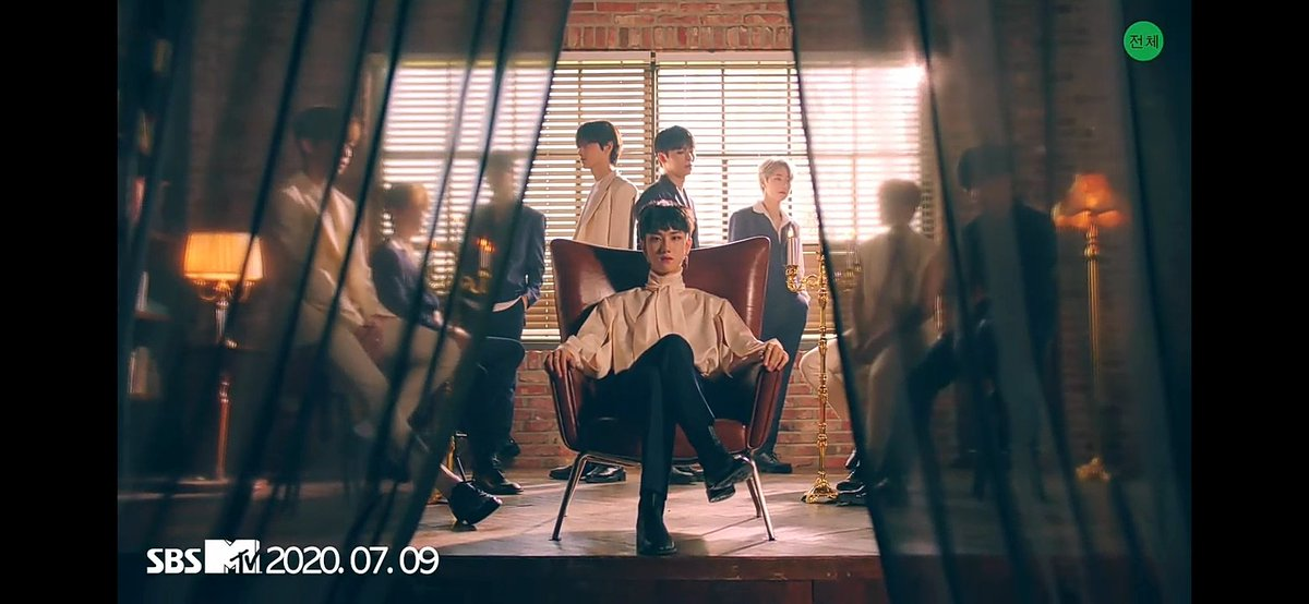 Doyum in the center, in his throne!  #원더나인 #1THE9 #TurnOver #BadGuy #20200716_6PM #COMEBACK #COMINGSOON<br>http://pic.twitter.com/hJeMYYwelQ