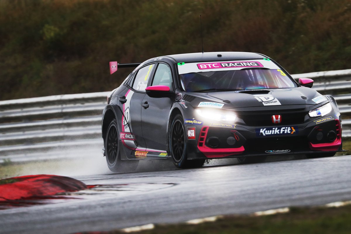 ⚪️ BTC Racing clocks up the miles at Goodyear tyre test  💬 Brackley-based squad at the sharp end at Snetterton  💻 https://t.co/IXmEzpnFVN https://t.co/QoBxVoWTPv