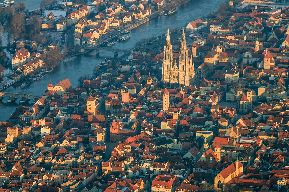 Regensburg, Germany. Modern architects not welcome.