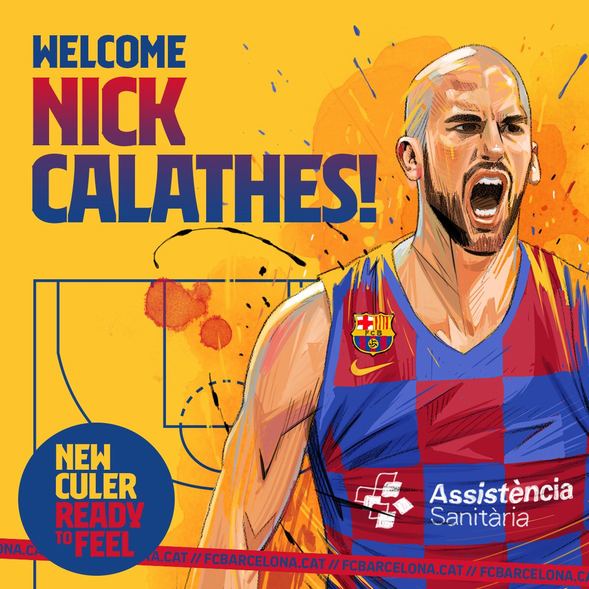 Nick Calathes è un nuovo giocatore del Barcelona, superate le visite mediche
