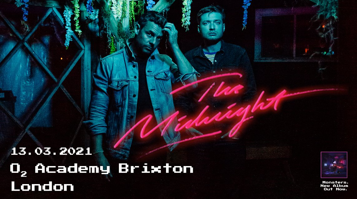 US synthwave duo The Midnight have announced that they will appear @O2academybrix #London on 13th Mar 2021. @TheMidnightLA   https://fave.co/2JCoNrspic.twitter.com/R7VhQfNysf