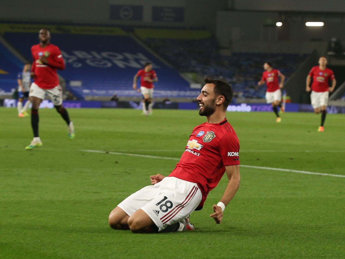 OFFICIAL: Bruno Fernandes' counter-attacking goal against Brighton is the Premier League Goal of the Month!  And what a goal it was 🤤 https://t.co/gzL76z9KzO