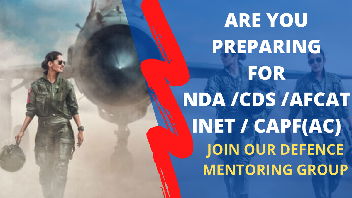 Team Kashmir Edu Hub launches Free Defence Mentoring Group for NDA/CDS/AFCAT/INET/CAPF(AC) aspirants hailing from Jammu & Kashmir.  Fill the form NOW!!!   Limited seats only! #Pilot #FighterPilot #Navy #Jobs #Exams #Defence #Army #CRPF #Kashmir #Jammu #SSB