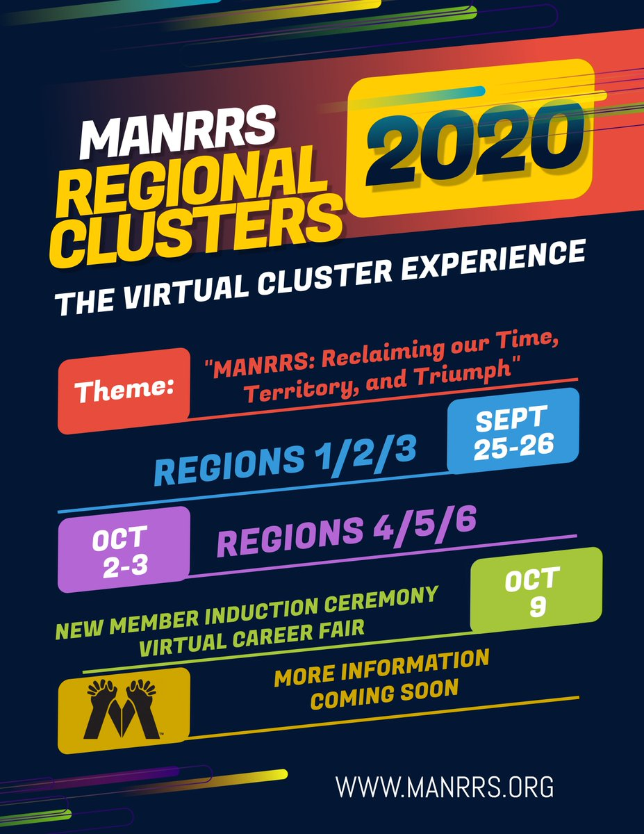 SAVE THE DATE! MANRRS is going Virtual this Fall!!