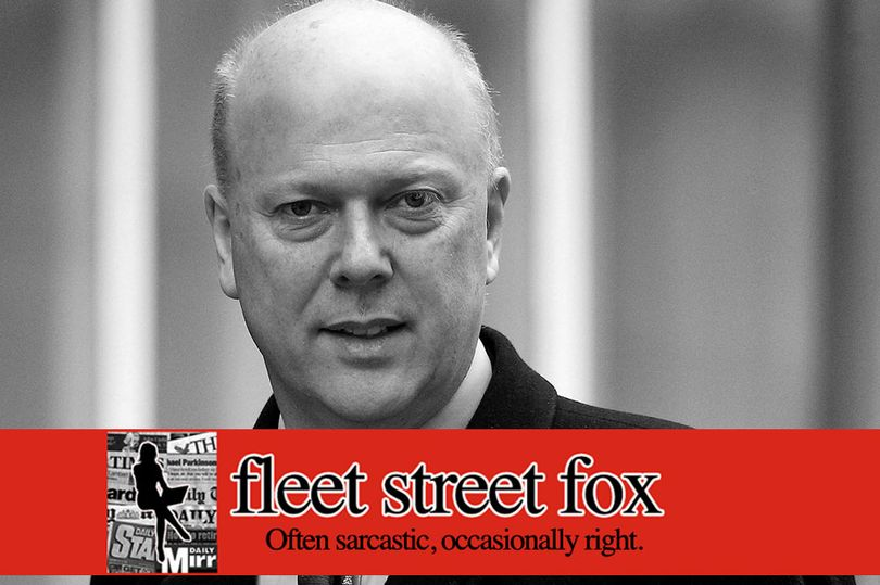 .@fleetstreetfox: Whyever would Boris Johnson put someone as successful and brilliant as Chris Grayling has proven himself to be in charge of the report into Russian meddling? mirror.co.uk/news/politics/…