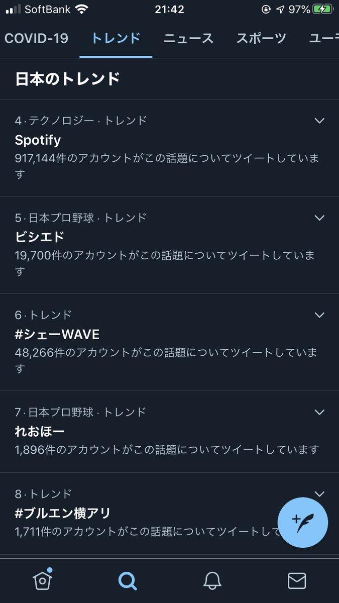 Spotify 落ちる