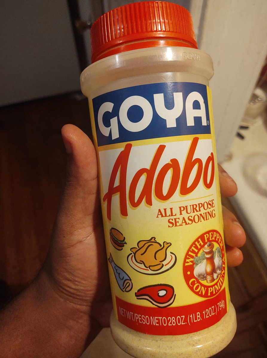 Woke up this morning to find out that this will be the last time I buy from Goya. Damn.  I just used it for my enchiladas, their canned Black beans too.  And this pain can only be felt by people who actually season their food well.  Badia or Conchita it is. #BoycottGoya https://t.co/994pA3NUNm