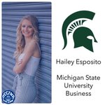 Image for the Tweet beginning: Celebrating our seniors! Hailey is headed