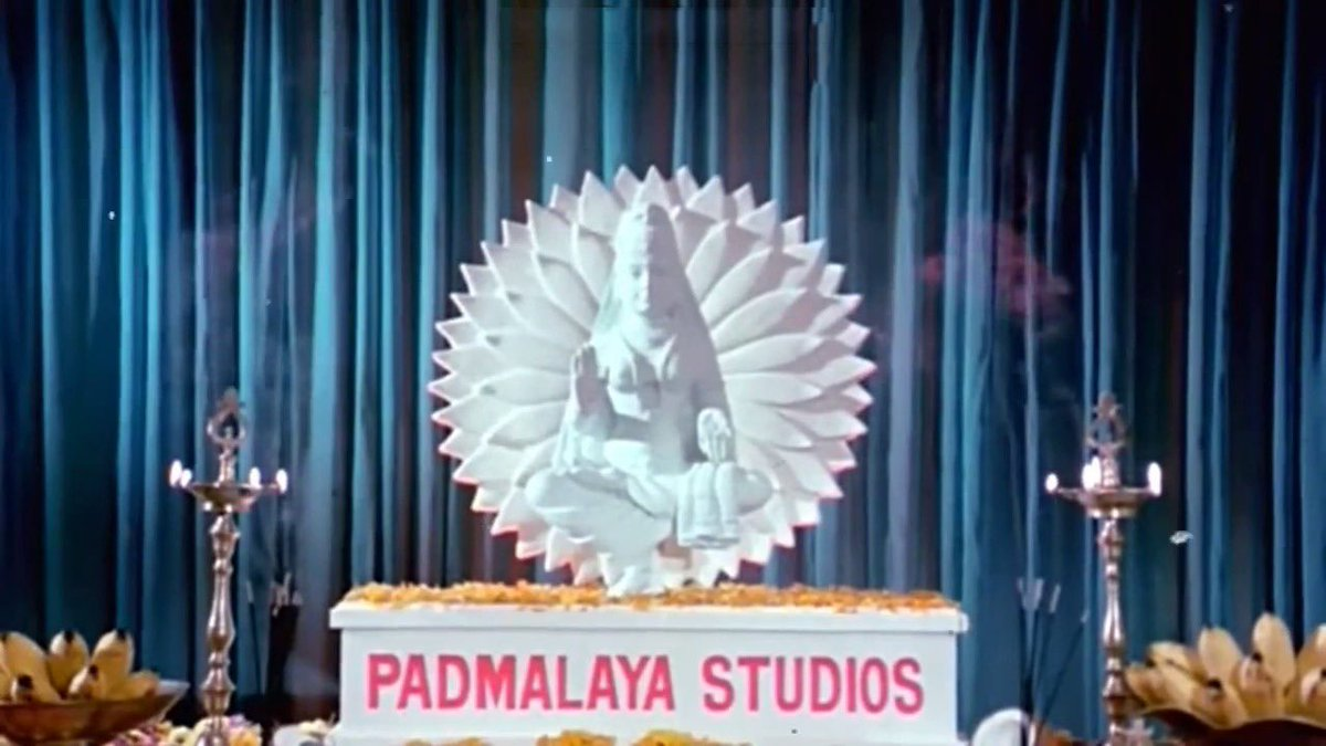 It all began today 50 years ago for #PadmalayaStudios!! A glorious journey. Respect and congratulations to its founding members and the entire team who have created some iconic entertaining films under this banner for our Telugu film audience. Happy 50th 👏🏻👏🏻👏🏻 https://t.co/I1Qx7yK5ey