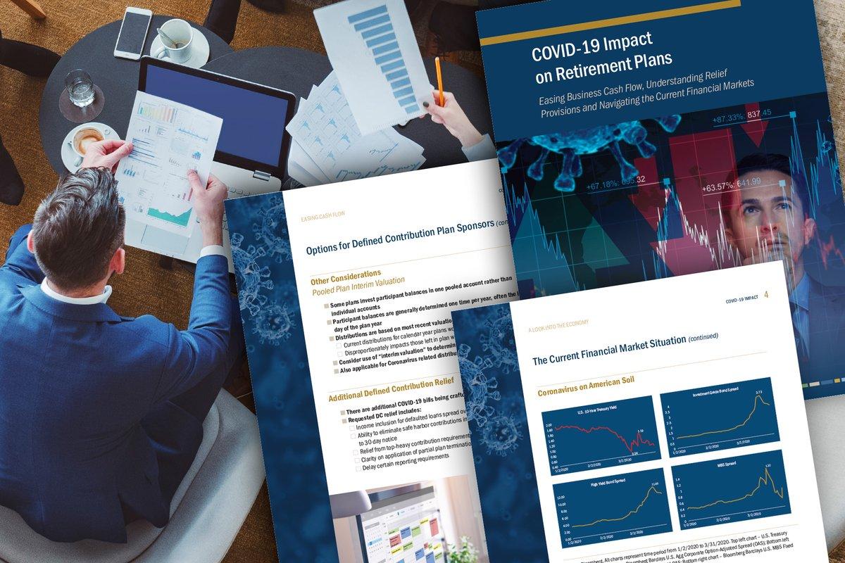 COVID-19's Impact on #Retirement Plans Guide- Download your copy! https://t.co/2fDy2q8PpK https://t.co/W39SKPrePc