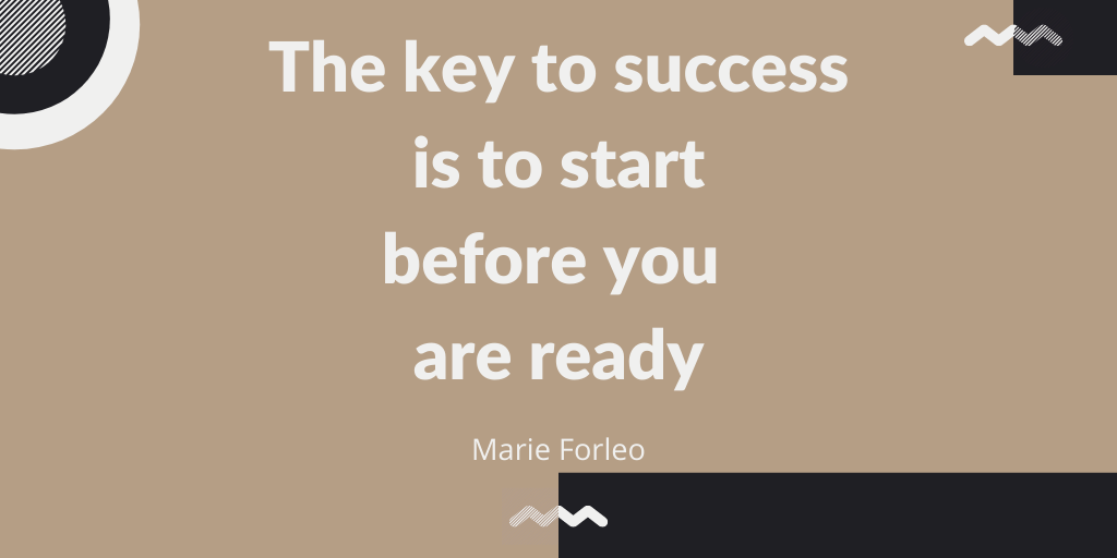 Is being totally ready that important to start a business ?🤔  #business #mindset #start #entrepreneur https://t.co/mgJrGsiy6t