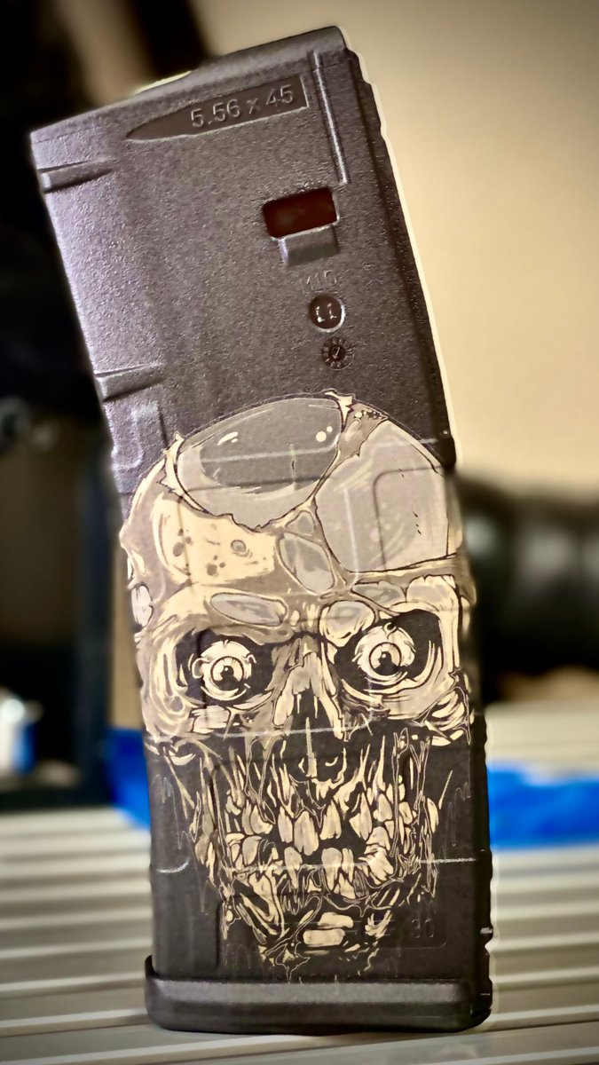 Another design laser engraved onto a PMag. #artist #love #instagood #design #drawing #tattoo #art #ink #tattoos #skulltattoo #happy #inspiration #life #selfie #architecture #arts #travel #instamood #me #music #like #interiordesign #hair #smile #picture #artistic #pencilpic.twitter.com/hpMBvYTJR2