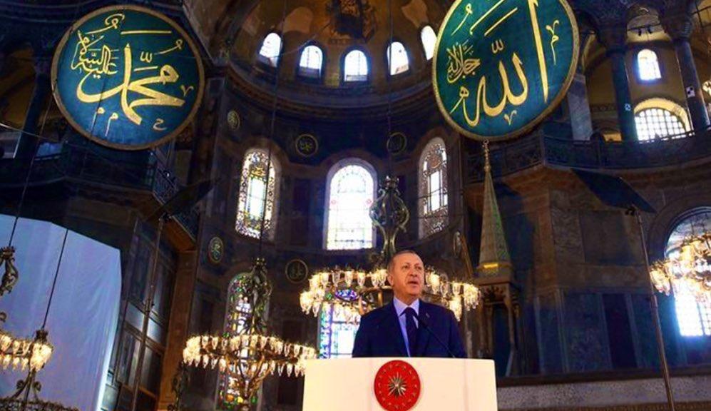 Başkan Tayyip Erdoğan bugün 20:53'te ulusa seslenecek.  #AyasofyaCamii  #ZincirlerKırıldı https://t.co/Eiz5kUyrtD