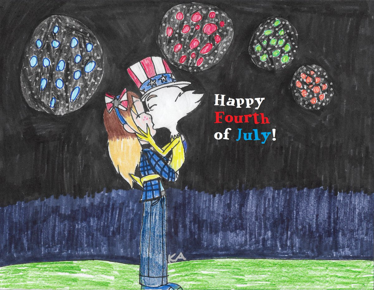 it's been a while on twitter, so I made this drawing of Kristy Avson (me) & sam-i-am and I hope you like it. #4thofJuly2020 #greeneggsandham #samiam #selfships https://t.co/dPjii64Gdz