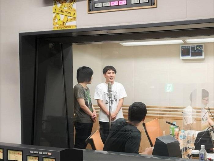 ゲストパーソナリティー ランジャタイによるゆかちさんバースデー漫才(?)でした#joqr #unozero #井口裕香 #東京ホテイソン