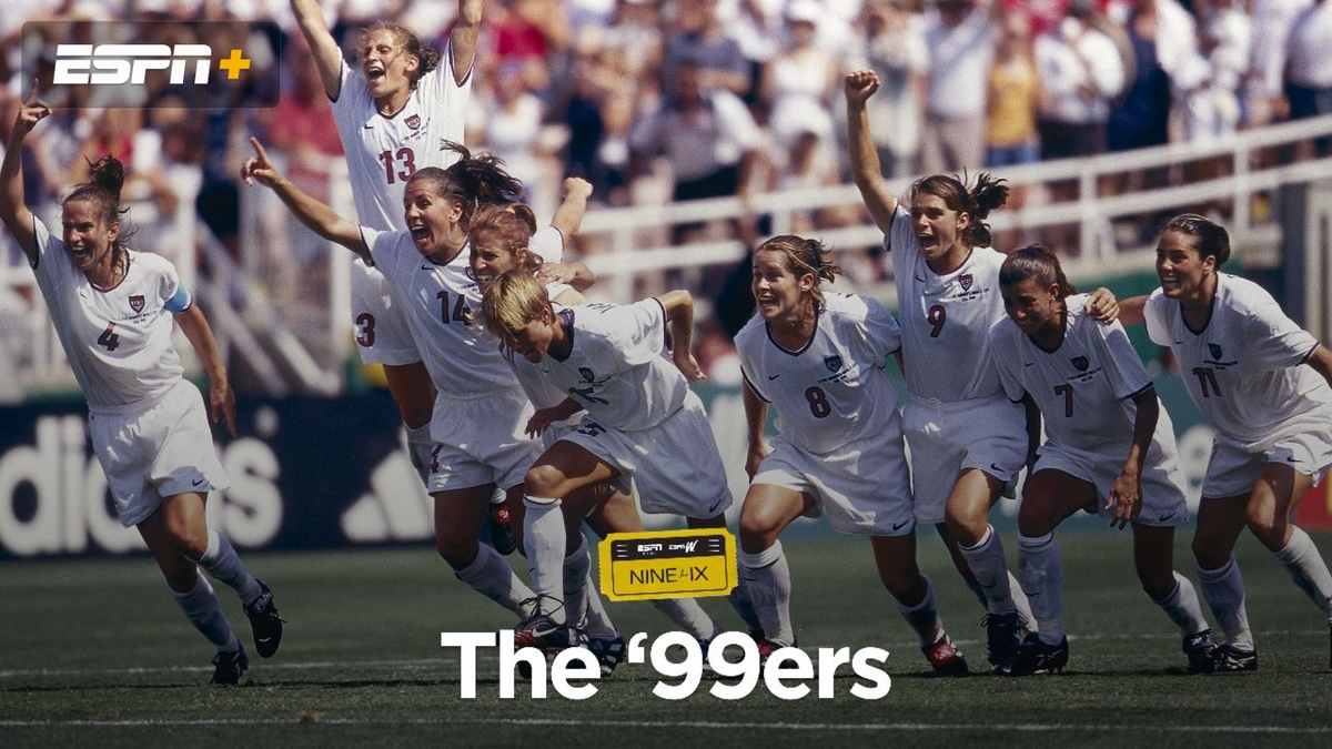 #OTD in 1999, the @USWNT made history. Recommend ESPN Films The 99ers directed by Erin Leyden and produced by @JulieFoudy on this iconic team. Re-watch it today on ESPN+.
