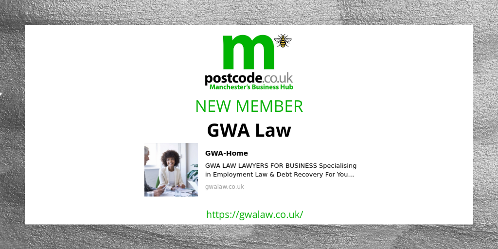 New member announcement  GWA Law have joined our constantly growing business hub!   @gwa_law  #law #business #businesslaw #manchester #manchesterbusiness #businessnews #businesshub #networking #network pic.twitter.com/7bbhlVtNrN