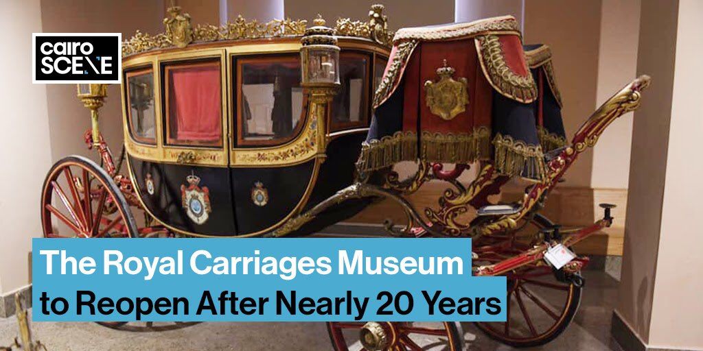 Cairo's long forgotten carriages museum is reopening after twenty long years.  https://t.co/3wXn4j96wE https://t.co/j0XrWoeshu