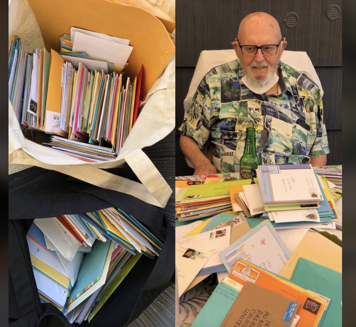 You guys helped Ike (one of my GISH.com participants) celebrate his 100th birthday in style. In retrospect, I should probably have sent him a letter opener... Thanks for showing him some well-deserved love. twitter.com/mishacollins/s…
