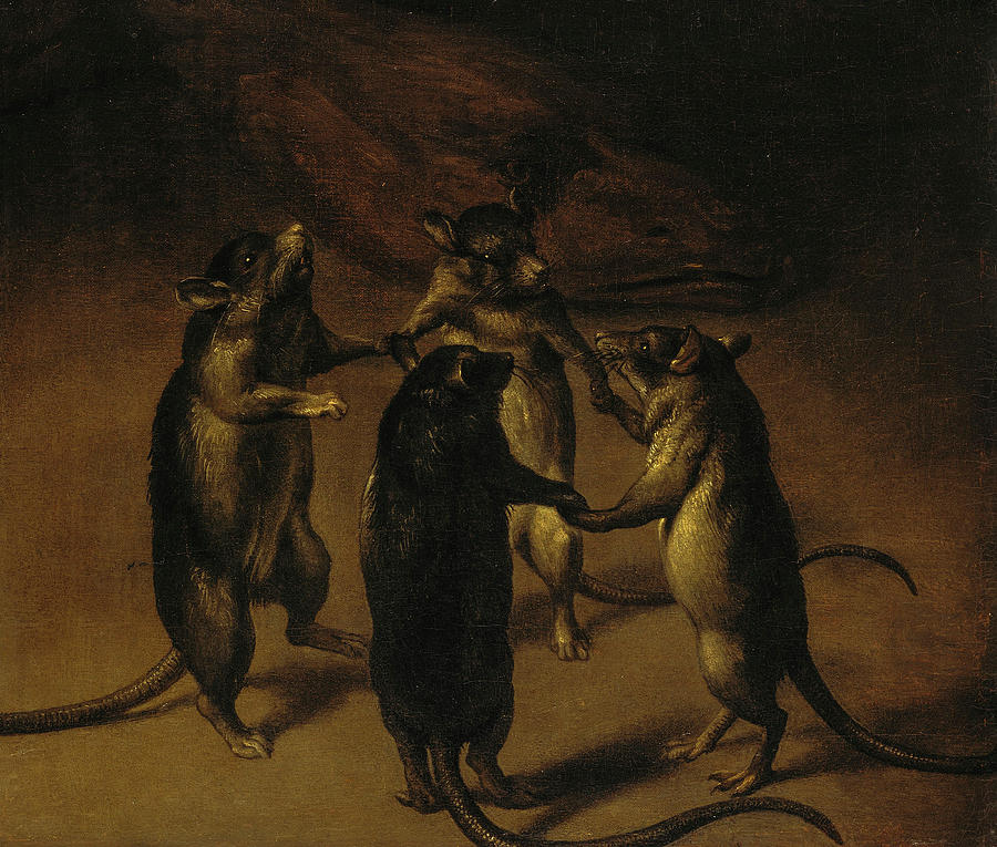 The Dance of the Rats, 1690 by Ferdinand van Kessel https://t.co/vsk5xfYwYB